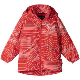 Reima Finbo Reimatec Jacket Boys, rojo